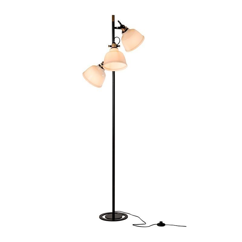 Lampadar / Lampa de podea vintage style KARLOFF 189943 SU, NOU ! Lustre VINTAGE, RETRO, INDUSTRIA Style,  a