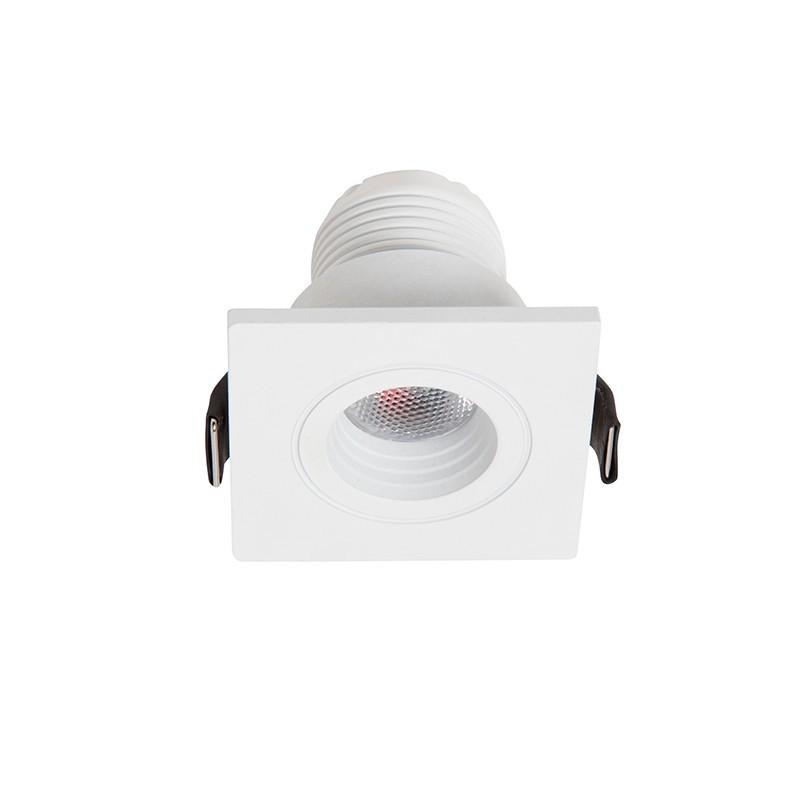 Spot LED incastrabil tavan / plafon Dotfix Mini 3000K 100952 SU, Spoturi incastrate - tavan fals / perete, Corpuri de iluminat, lustre, aplice, veioze, lampadare, plafoniere. Mobilier si decoratiuni, oglinzi, scaune, fotolii. Oferte speciale iluminat interior si exterior. Livram in toata tara.  a