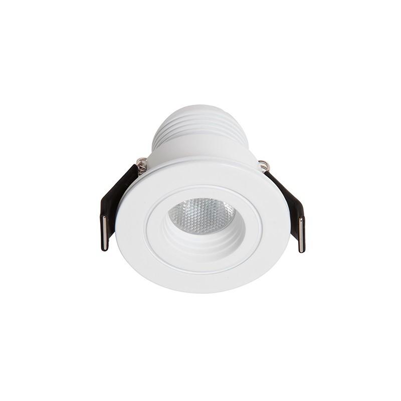 Spot LED incastrabil tavan / plafon Dotfix Mini 3000K 100954 SU, Spoturi incastrate - tavan fals / perete, Corpuri de iluminat, lustre, aplice, veioze, lampadare, plafoniere. Mobilier si decoratiuni, oglinzi, scaune, fotolii. Oferte speciale iluminat interior si exterior. Livram in toata tara.  a