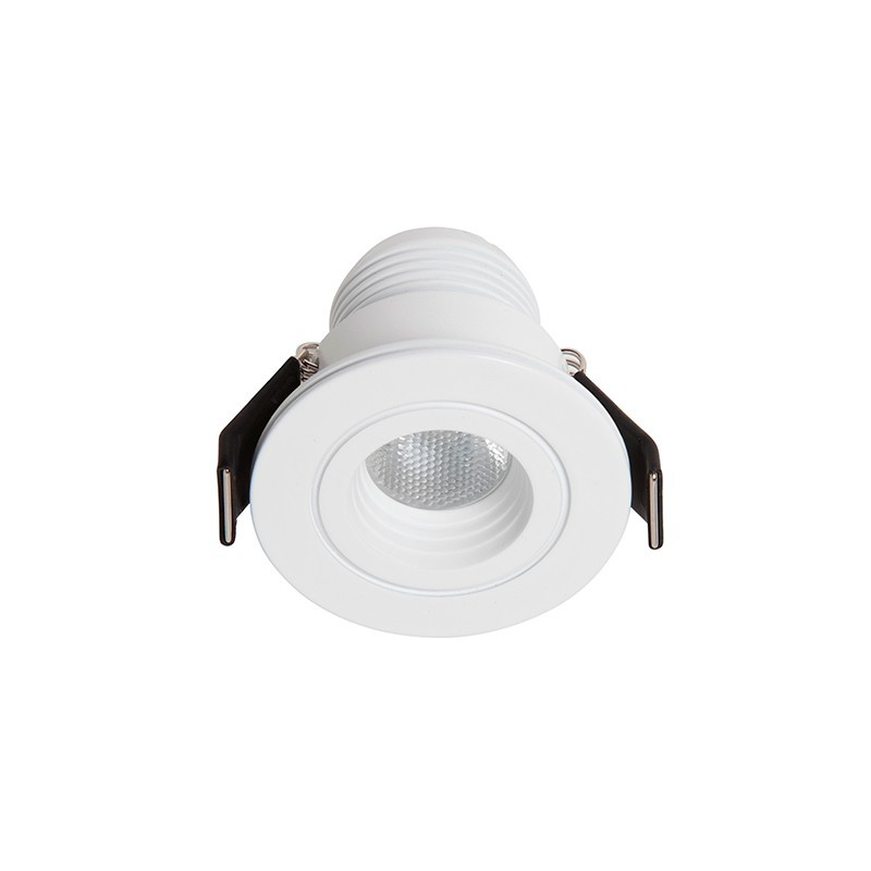 Spot LED incastrabil tavan / plafon Dotfix Mini 4500K 100955 SU, Spoturi incastrate - tavan fals / perete, Corpuri de iluminat, lustre, aplice, veioze, lampadare, plafoniere. Mobilier si decoratiuni, oglinzi, scaune, fotolii. Oferte speciale iluminat interior si exterior. Livram in toata tara.  a