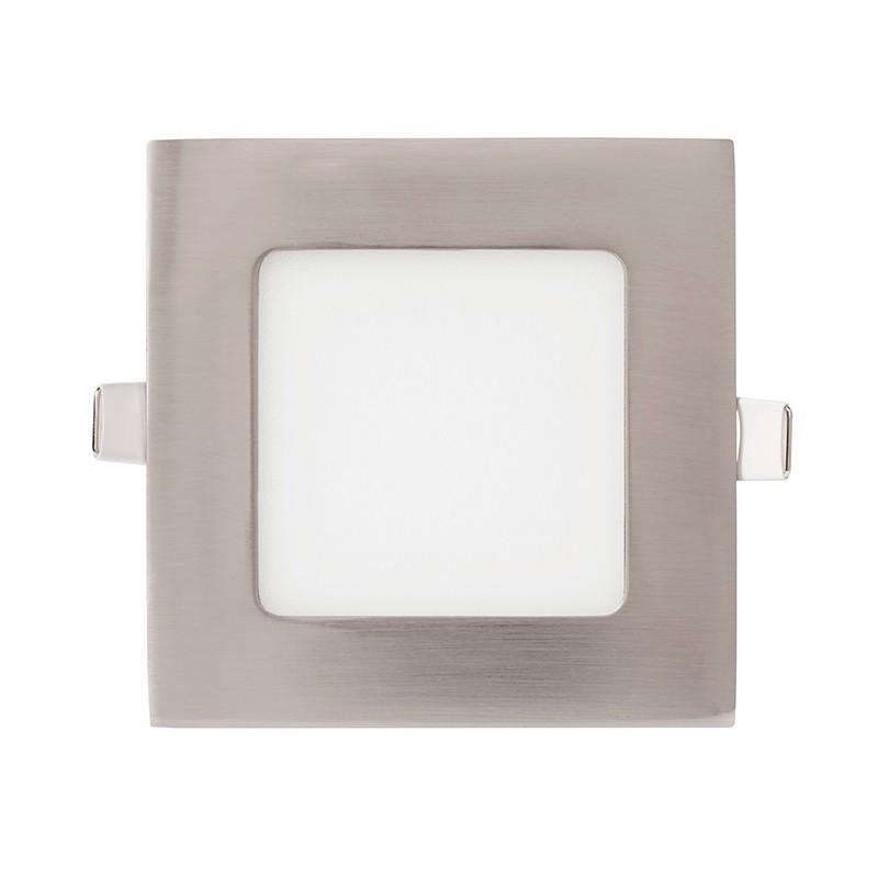 Spot LED incastrabil tavan 12cm Hole nickel 6W 4000K 366101 SU, Spoturi incastrate - tavan fals / perete, Corpuri de iluminat, lustre, aplice, veioze, lampadare, plafoniere. Mobilier si decoratiuni, oglinzi, scaune, fotolii. Oferte speciale iluminat interior si exterior. Livram in toata tara.  a