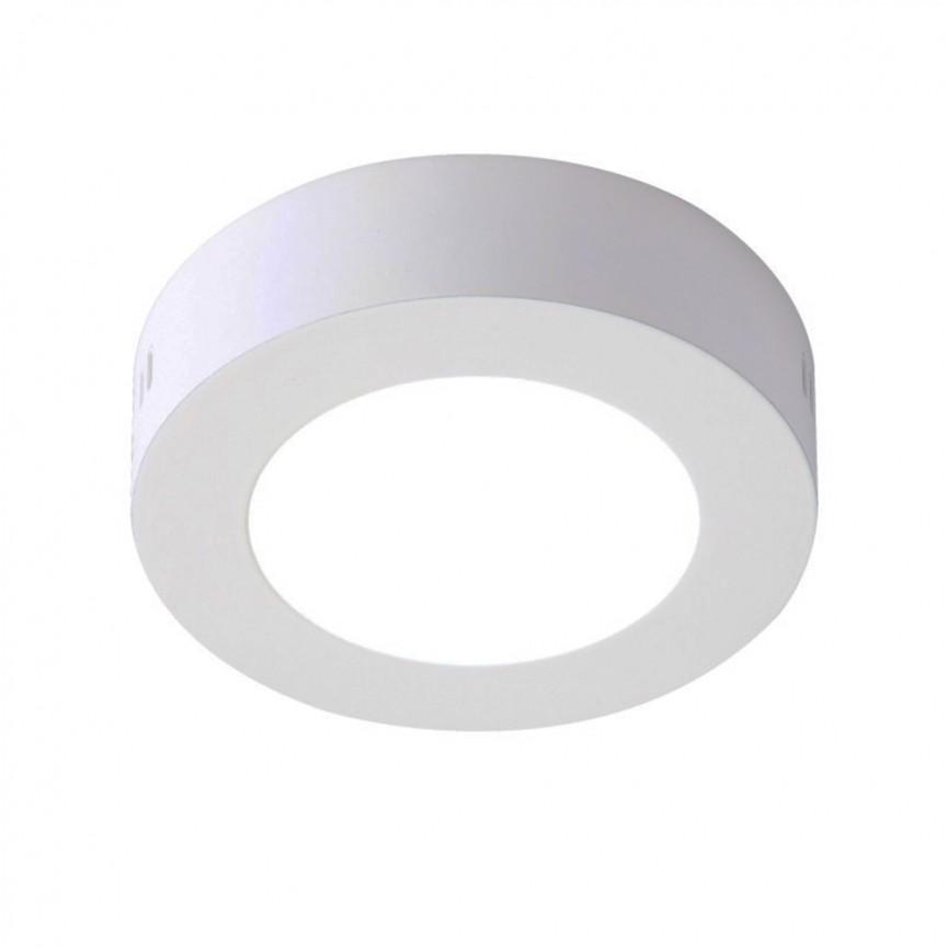 Spot LED aplicat tavan Ø22,5cm SURF alb 18W 5500K 100912 SU, Spoturi LED incastrate, aplicate, Corpuri de iluminat, lustre, aplice, veioze, lampadare, plafoniere. Mobilier si decoratiuni, oglinzi, scaune, fotolii. Oferte speciale iluminat interior si exterior. Livram in toata tara.  a