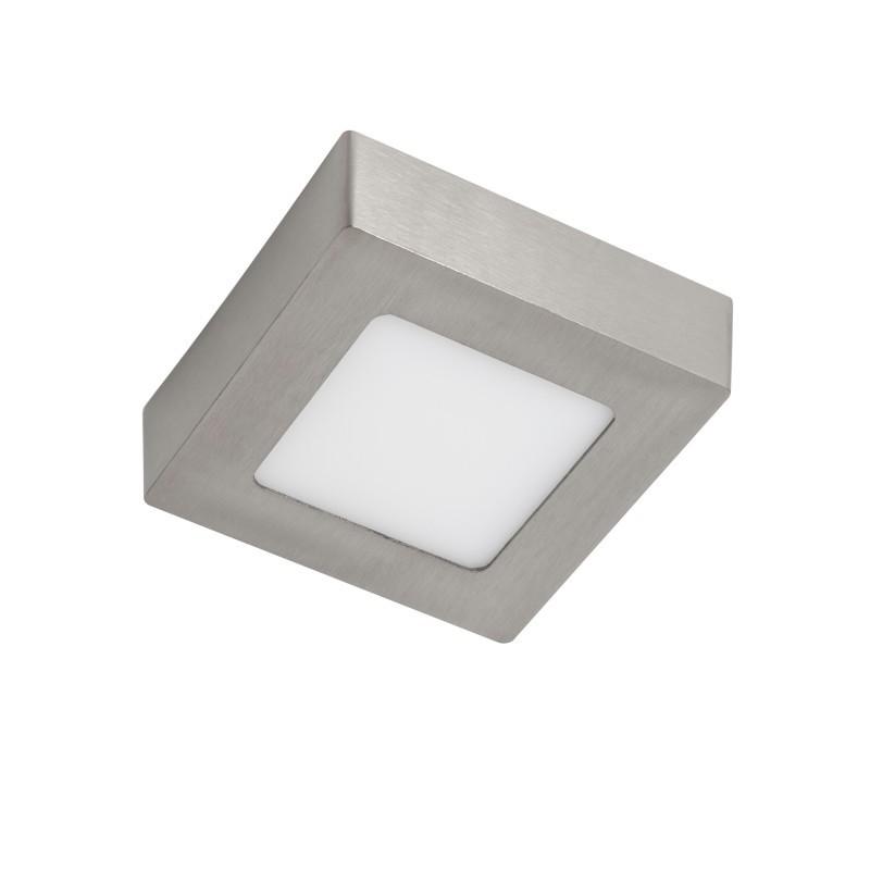 Spot LED aplicat tavan 12cm SURF nickel 6W 5500K 101071 SU, Spoturi LED incastrate, aplicate, Corpuri de iluminat, lustre, aplice, veioze, lampadare, plafoniere. Mobilier si decoratiuni, oglinzi, scaune, fotolii. Oferte speciale iluminat interior si exterior. Livram in toata tara.  a