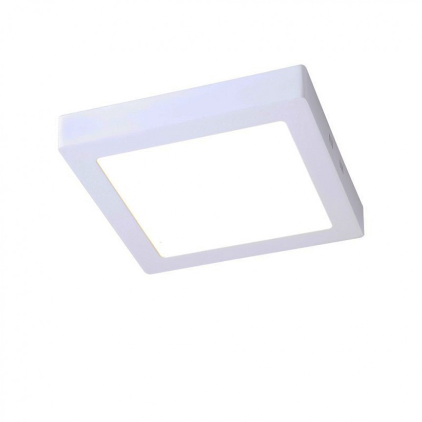 Spot LED aplicat tavan 17cm SURF alb 12W 5500K 101030 SU, Spoturi LED incastrate, aplicate, Corpuri de iluminat, lustre, aplice, veioze, lampadare, plafoniere. Mobilier si decoratiuni, oglinzi, scaune, fotolii. Oferte speciale iluminat interior si exterior. Livram in toata tara.  a