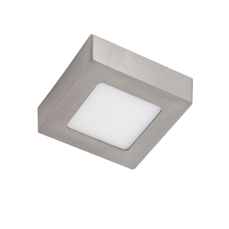 Spot LED aplicat tavan 17cm SURF nickel 12W 5500K 101072 SU, Spoturi LED incastrate, aplicate, Corpuri de iluminat, lustre, aplice, veioze, lampadare, plafoniere. Mobilier si decoratiuni, oglinzi, scaune, fotolii. Oferte speciale iluminat interior si exterior. Livram in toata tara.  a
