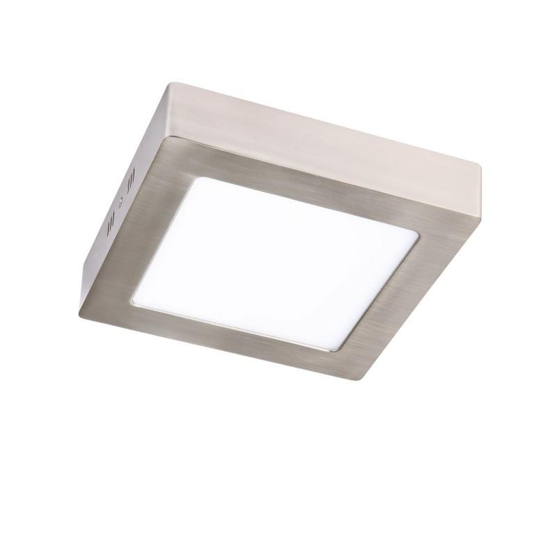 Spot LED aplicat tavan 22,5cm SURF nickel 18W 5500K 101073 SU, Spoturi LED incastrate, aplicate, Corpuri de iluminat, lustre, aplice, veioze, lampadare, plafoniere. Mobilier si decoratiuni, oglinzi, scaune, fotolii. Oferte speciale iluminat interior si exterior. Livram in toata tara.  a