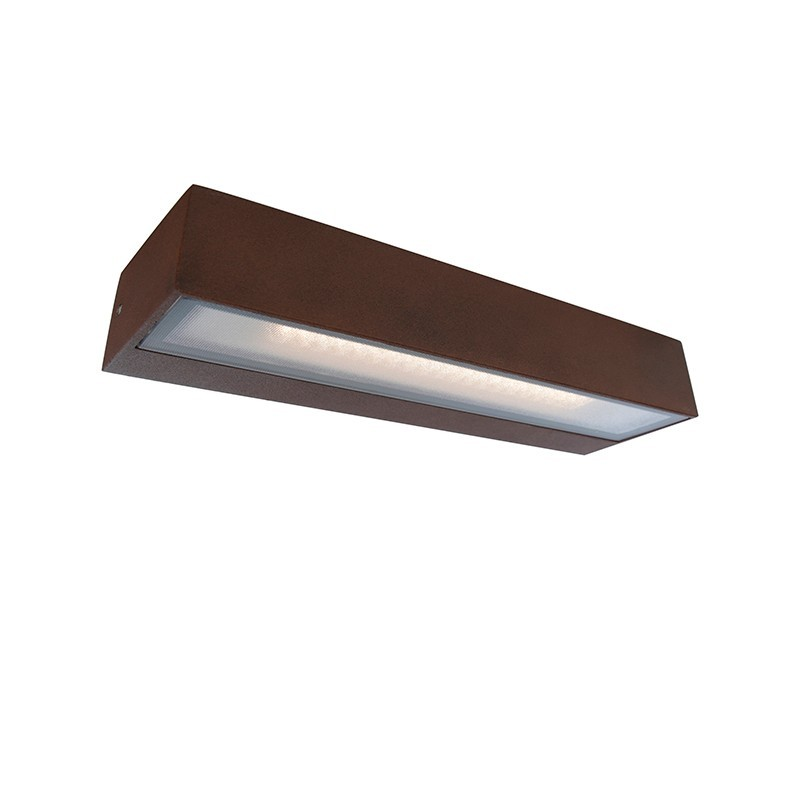 Aplica LED perete exterior IP65 TISA I ruginie 4000K 112958 SU, ILUMINAT EXTERIOR, Corpuri de iluminat, lustre, aplice, veioze, lampadare, plafoniere. Mobilier si decoratiuni, oglinzi, scaune, fotolii. Oferte speciale iluminat interior si exterior. Livram in toata tara.  a