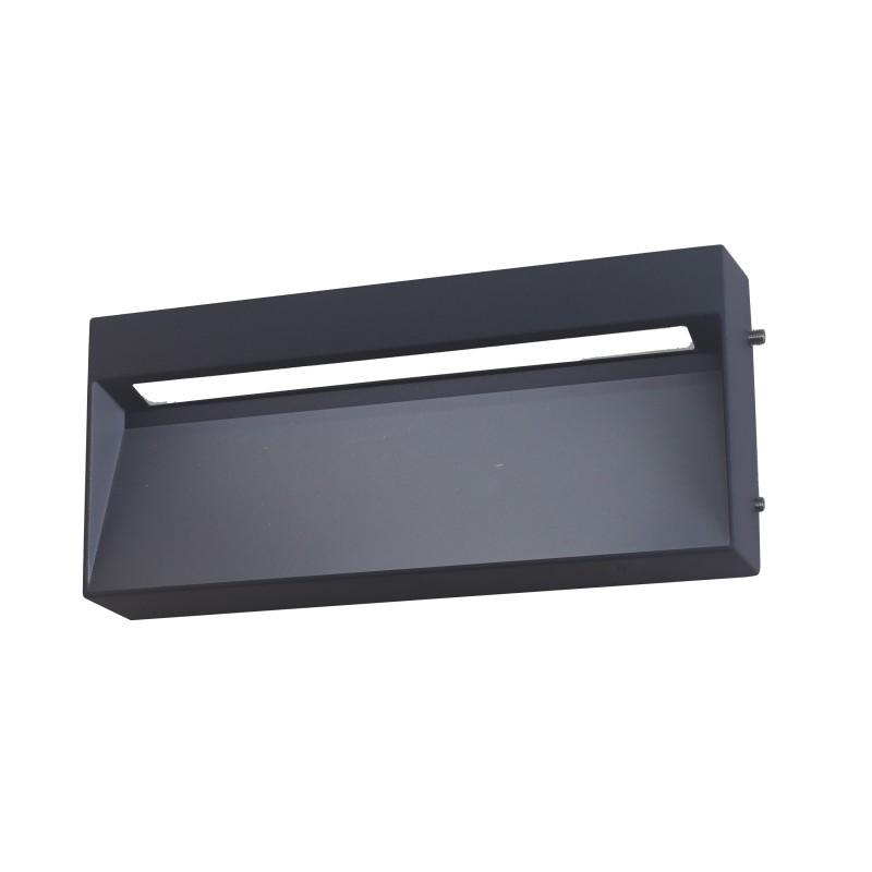 Aplica LED perete exterior ambientala IP65 KAMAL negru 8W 2700K 113992 SU, Aplice de exterior moderne⭐ lampi de perete pentru iluminat exterior terasa casa si gradina.✅Design cu LED decorativ 2021!❤️Promotii online❗ Magazin➽www.evalight.ro. Alege oferte la corpuri de iluminat exterior rezistente la apa tip spoturi aplicate pt perete sau tavan, metalice, abajur din sticla cu decor ornamental, bec LED si lumina ambientala, ieftine si de lux, calitate deosebita la cel mai bun pret. a