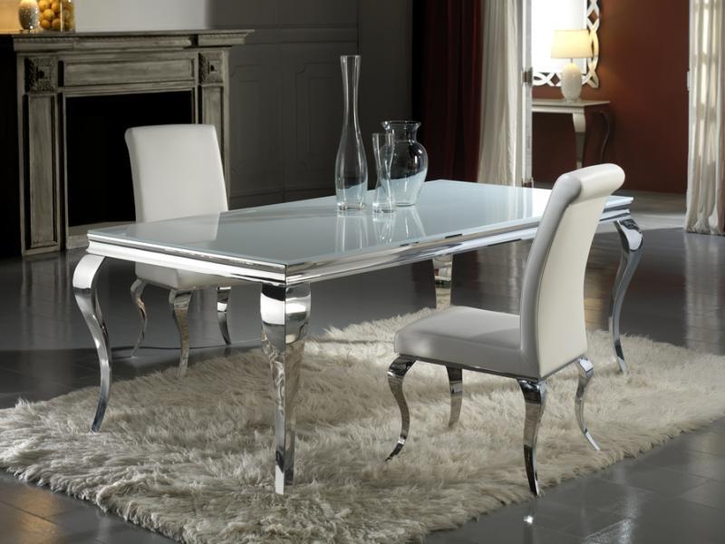 Masa moderna,dim.208x108cm, -Dinning table-  Barroque 792107/20691, Mese dining, Corpuri de iluminat, lustre, aplice a