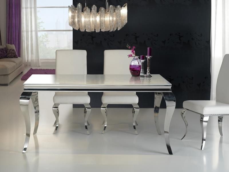 Masa moderna,dim.168x98cm, -Dinning table- Barroque 792219/20701, Mese dining, Corpuri de iluminat, lustre, aplice a