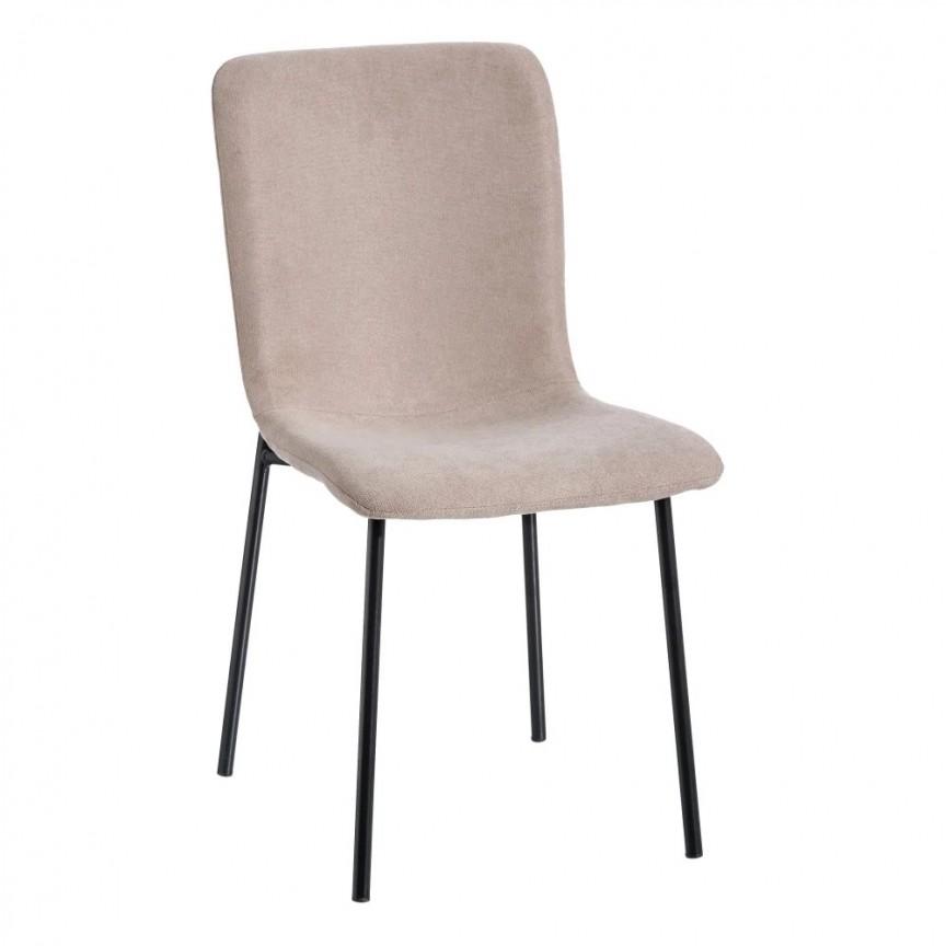 Set de 2 scaune design modern Rylie, tesatura bej SX-121605, Seturi scaune dining, scaune HoReCa, Corpuri de iluminat, lustre, aplice, veioze, lampadare, plafoniere. Mobilier si decoratiuni, oglinzi, scaune, fotolii. Oferte speciale iluminat interior si exterior. Livram in toata tara.  a