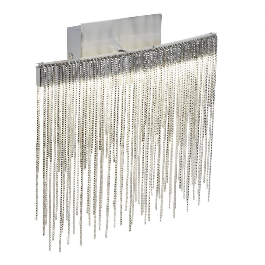 Aplica perete LED moderna design elegant Memphis 6052SS SRT, Aplice de perete moderne, Corpuri de iluminat, lustre, aplice, veioze, lampadare, plafoniere. Mobilier si decoratiuni, oglinzi, scaune, fotolii. Oferte speciale iluminat interior si exterior. Livram in toata tara.  a