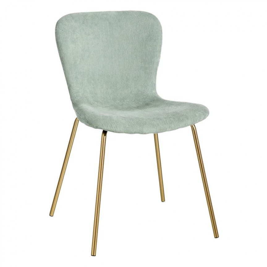 Set de 2 scaune design modern Janna, verde-auriu SX-121810, Seturi scaune dining, scaune HoReCa, Corpuri de iluminat, lustre, aplice, veioze, lampadare, plafoniere. Mobilier si decoratiuni, oglinzi, scaune, fotolii. Oferte speciale iluminat interior si exterior. Livram in toata tara.  a