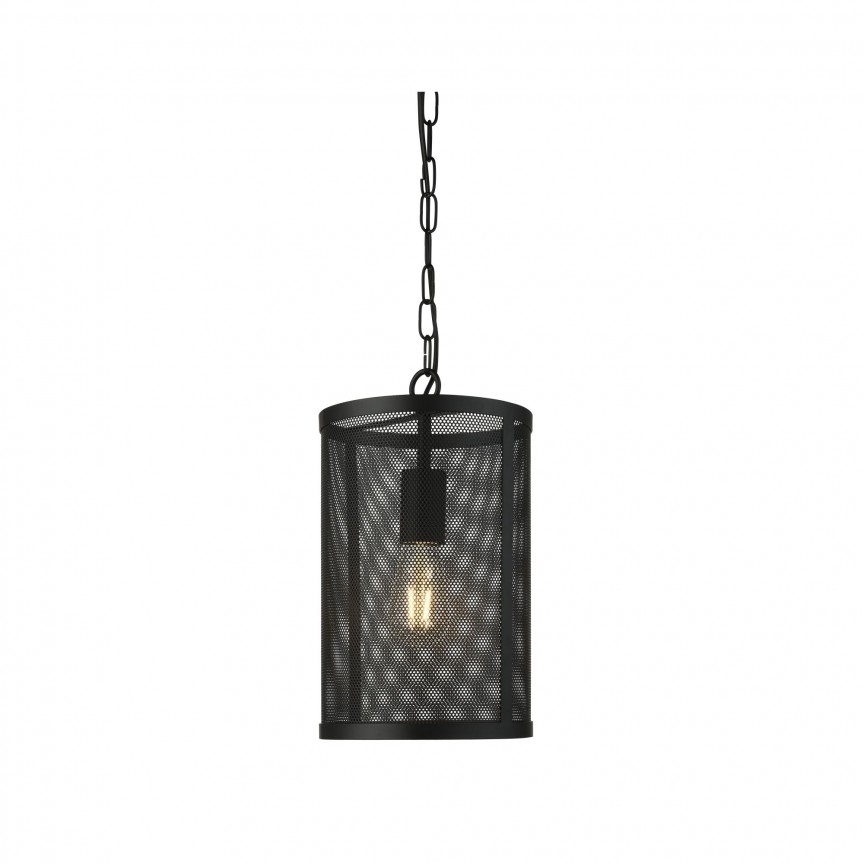 Pendul design industrial Fishnet negru 2481BK SRT, NOU ! Lustre VINTAGE, RETRO, INDUSTRIA Style,  a