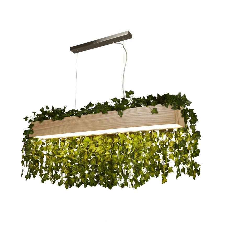 Lustra LED moderna design lemn natural Ash 7231 SRT, Lustre LED, Pendule LED, Corpuri de iluminat, lustre, aplice, veioze, lampadare, plafoniere. Mobilier si decoratiuni, oglinzi, scaune, fotolii. Oferte speciale iluminat interior si exterior. Livram in toata tara.  a