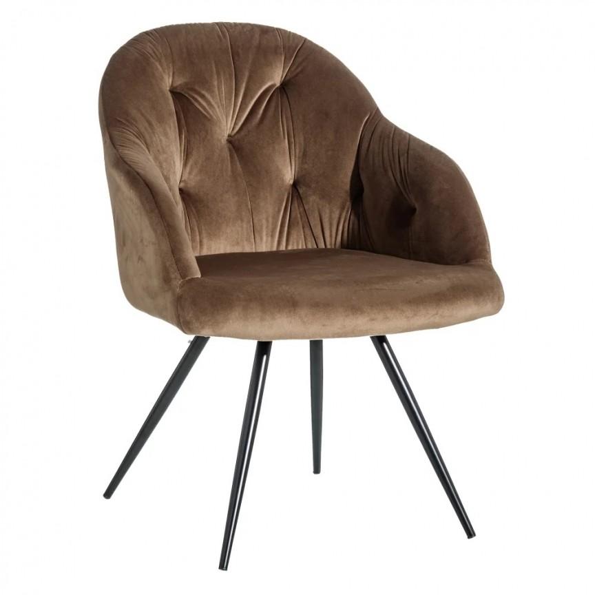 Set de 2 scaune design elegant Jaime, catifea maro SX-121782, Seturi scaune dining, scaune HoReCa, Corpuri de iluminat, lustre, aplice, veioze, lampadare, plafoniere. Mobilier si decoratiuni, oglinzi, scaune, fotolii. Oferte speciale iluminat interior si exterior. Livram in toata tara.  a