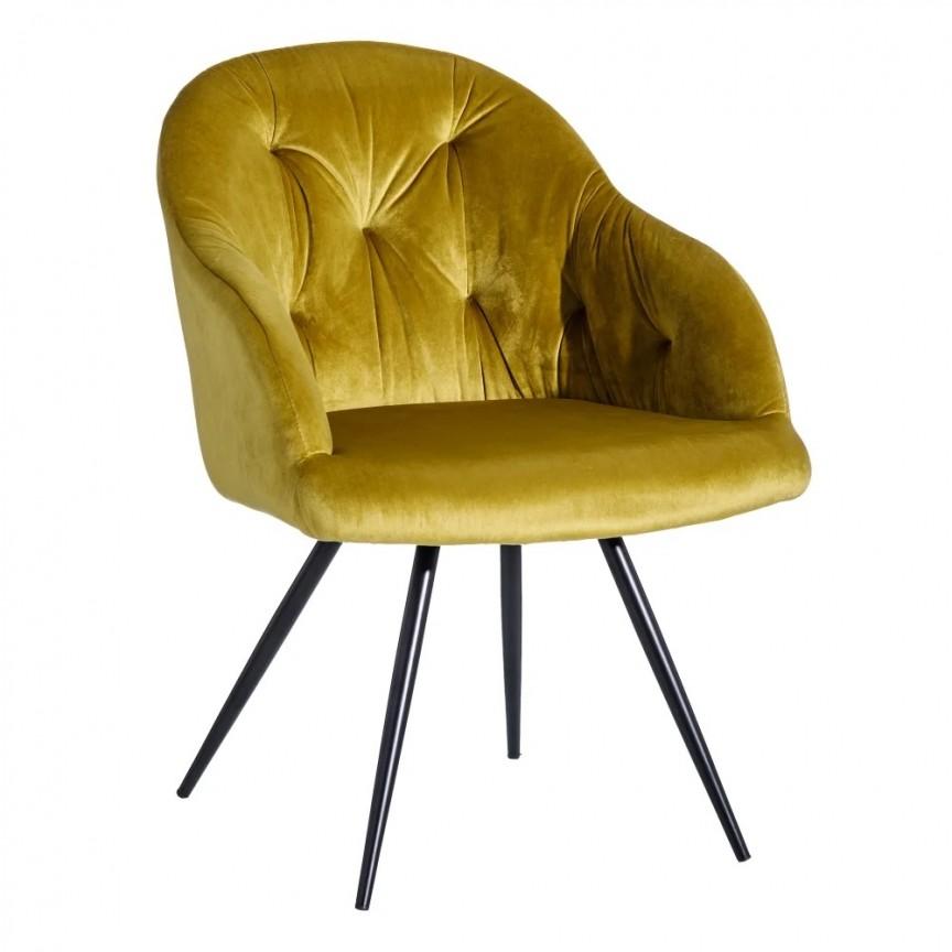 Set de 2 scaune design elegant Jaime, catifea aurie SX-121784 , Seturi scaune dining, scaune HoReCa, Corpuri de iluminat, lustre, aplice, veioze, lampadare, plafoniere. Mobilier si decoratiuni, oglinzi, scaune, fotolii. Oferte speciale iluminat interior si exterior. Livram in toata tara.  a