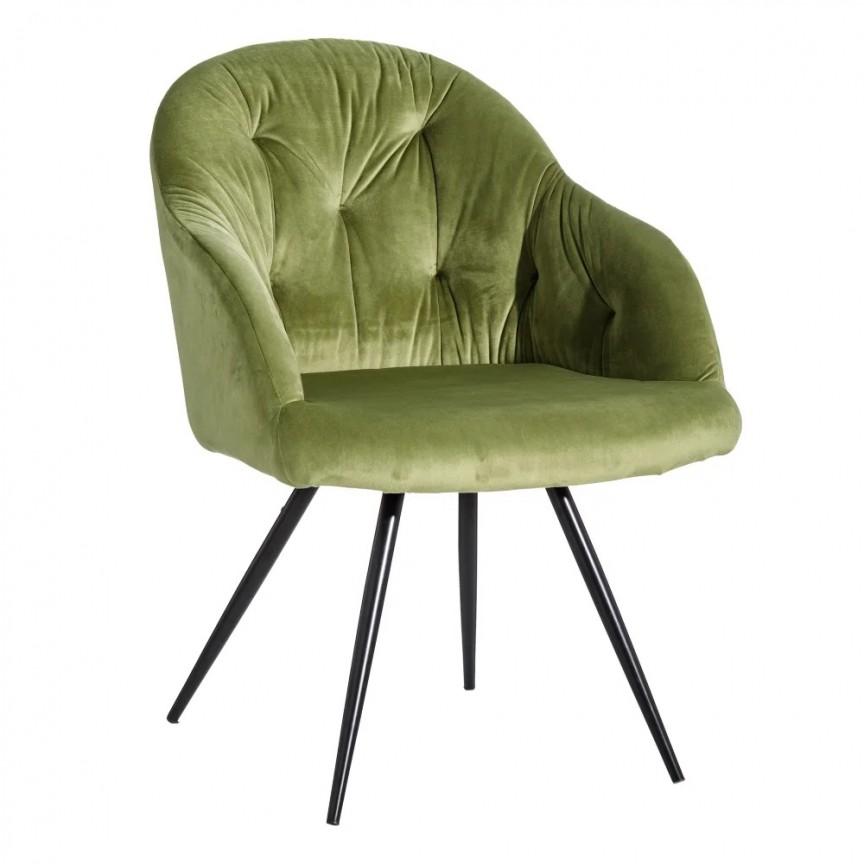 Set de 2 scaune design elegant Jaime, catifea verde SX-121785, Seturi scaune dining, scaune HoReCa, Corpuri de iluminat, lustre, aplice, veioze, lampadare, plafoniere. Mobilier si decoratiuni, oglinzi, scaune, fotolii. Oferte speciale iluminat interior si exterior. Livram in toata tara.  a
