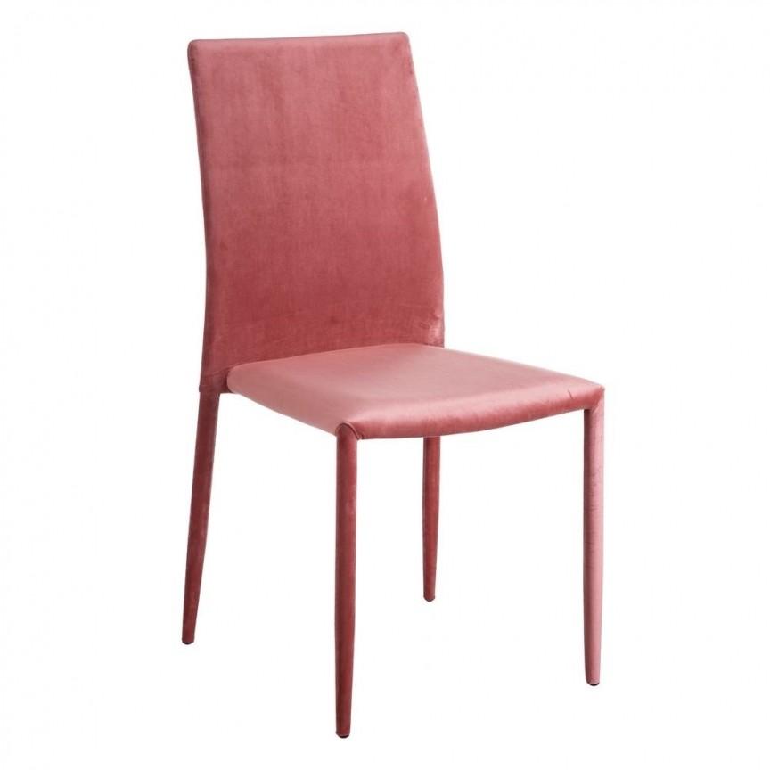Set de 2 scaune Anteo, catifea roz SX-105339, Seturi scaune dining, scaune HoReCa, Corpuri de iluminat, lustre, aplice, veioze, lampadare, plafoniere. Mobilier si decoratiuni, oglinzi, scaune, fotolii. Oferte speciale iluminat interior si exterior. Livram in toata tara.  a