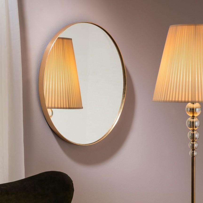 Oglinda decorativa ovala 51x61cm Orio SV-127233, Mobila si Decoratiuni,  a