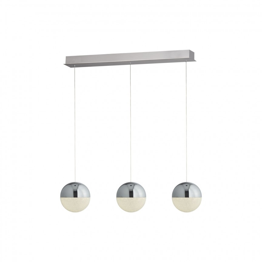Lustra LED design modern Marbles 3L 5843-3CC SRT, Lustre LED, Pendule LED, Corpuri de iluminat, lustre, aplice, veioze, lampadare, plafoniere. Mobilier si decoratiuni, oglinzi, scaune, fotolii. Oferte speciale iluminat interior si exterior. Livram in toata tara.  a