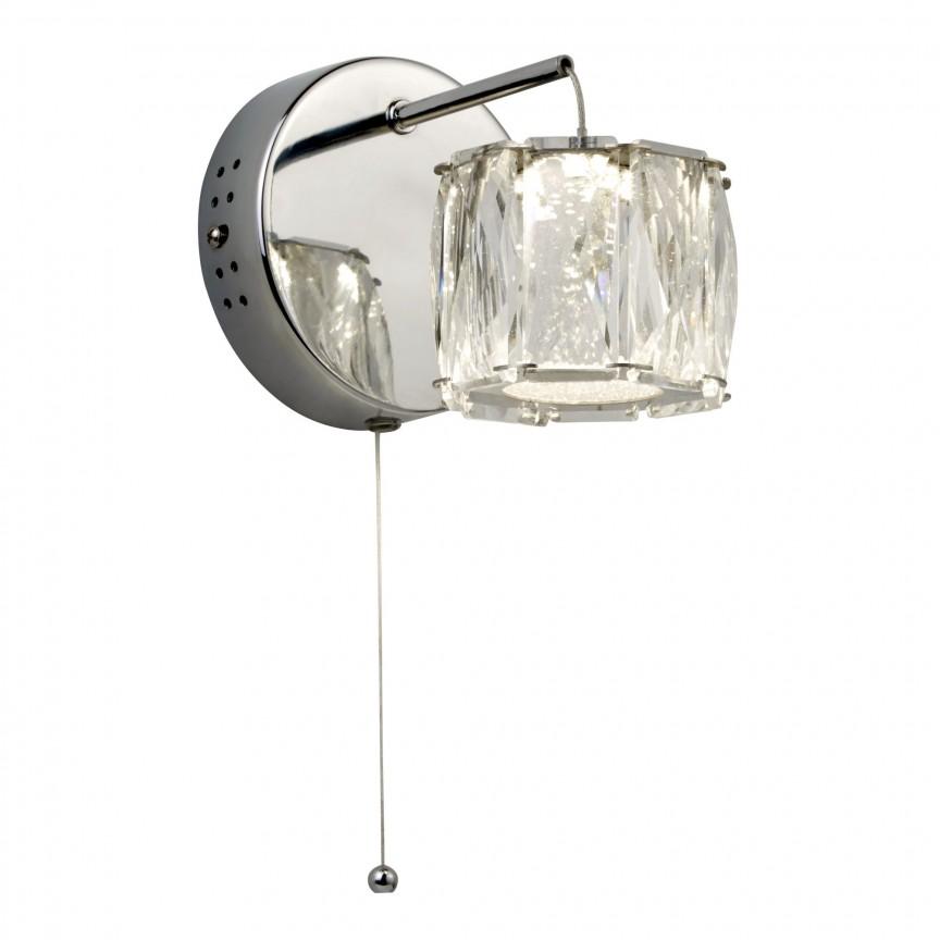 Aplica perete LED design modern Maxim 7763CC SRT, Aplice de perete LED, Corpuri de iluminat, lustre, aplice, veioze, lampadare, plafoniere. Mobilier si decoratiuni, oglinzi, scaune, fotolii. Oferte speciale iluminat interior si exterior. Livram in toata tara.  a