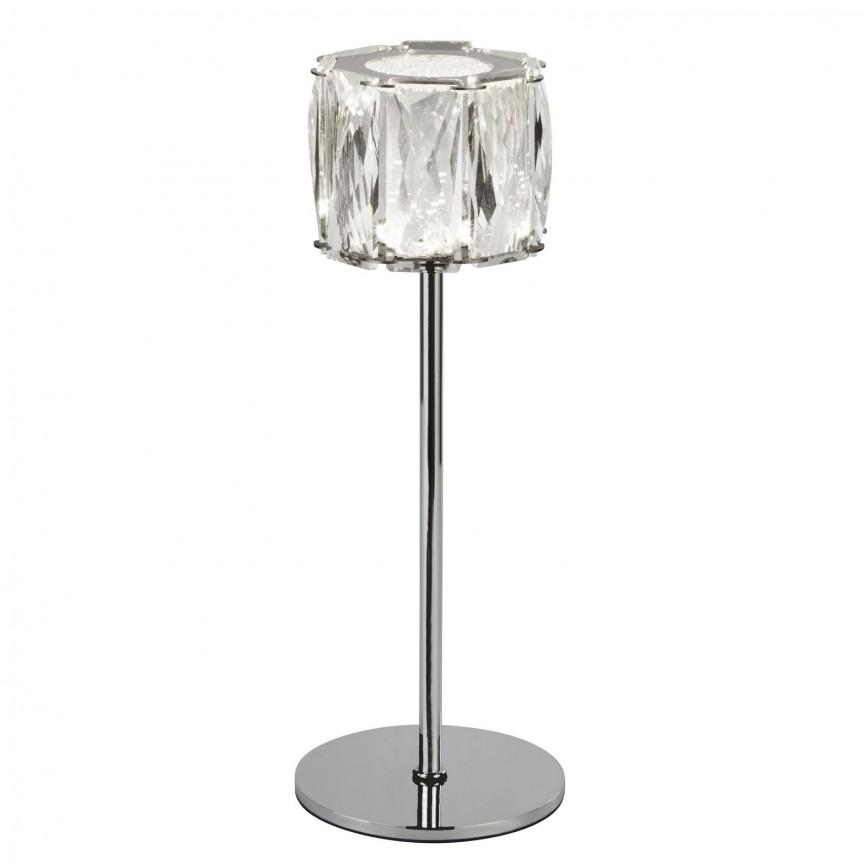 Veioza / Lampa de masa LED design modern Maxim EU7762CC SRT, Veioze LED, Lampadare LED, Corpuri de iluminat, lustre, aplice, veioze, lampadare, plafoniere. Mobilier si decoratiuni, oglinzi, scaune, fotolii. Oferte speciale iluminat interior si exterior. Livram in toata tara.  a