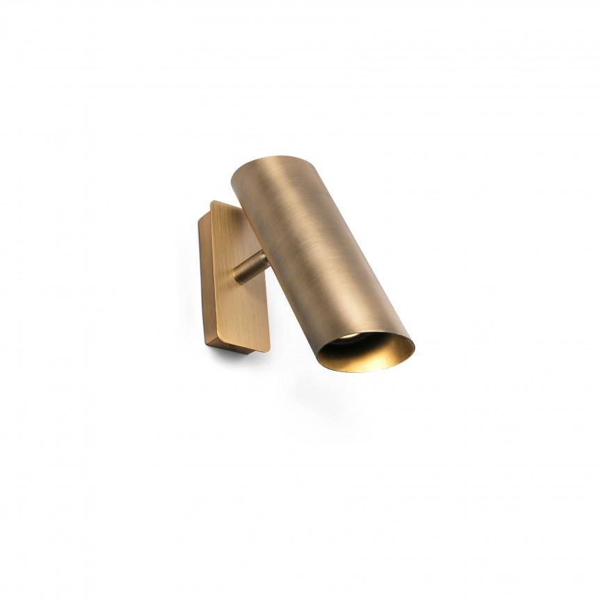 Aplica cu 1 spot directionabil LINK Bronze 29897, Spoturi - iluminat - cu 1 spot, Corpuri de iluminat, lustre, aplice, veioze, lampadare, plafoniere. Mobilier si decoratiuni, oglinzi, scaune, fotolii. Oferte speciale iluminat interior si exterior. Livram in toata tara.  a