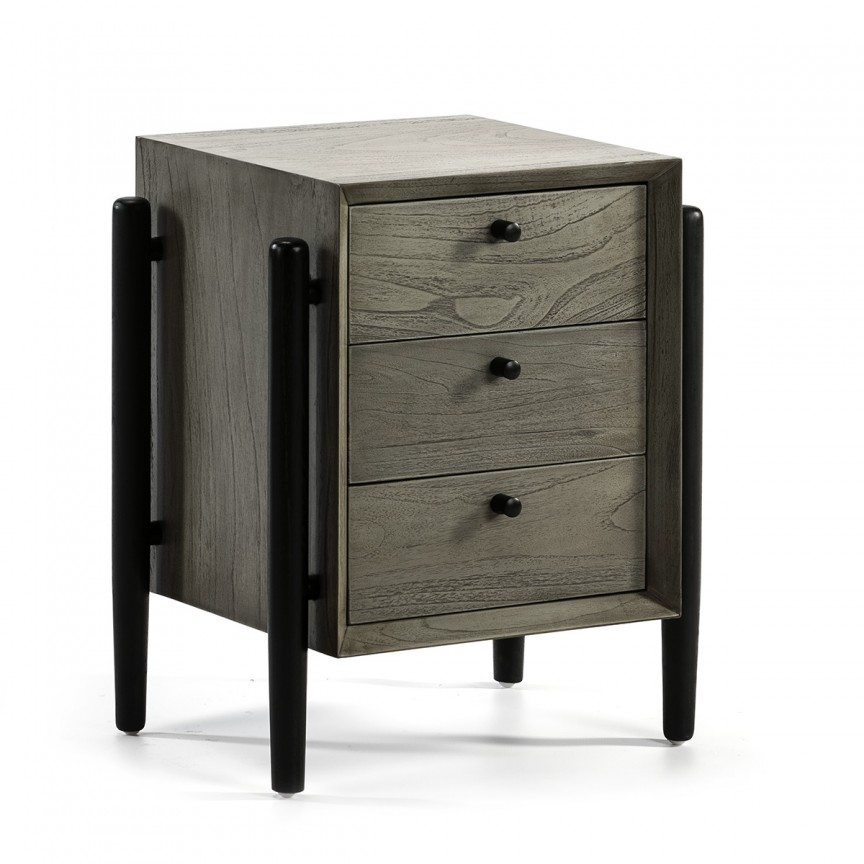 Noptiera design clasic, Melina 26470/22 TN, Paturi - Noptiere dormitor,  a