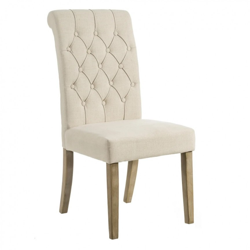 Set de 2 scaune design clasic Pearl, tapiterie bej SX-101287, Seturi scaune dining, scaune HoReCa, Corpuri de iluminat, lustre, aplice, veioze, lampadare, plafoniere. Mobilier si decoratiuni, oglinzi, scaune, fotolii. Oferte speciale iluminat interior si exterior. Livram in toata tara.  a
