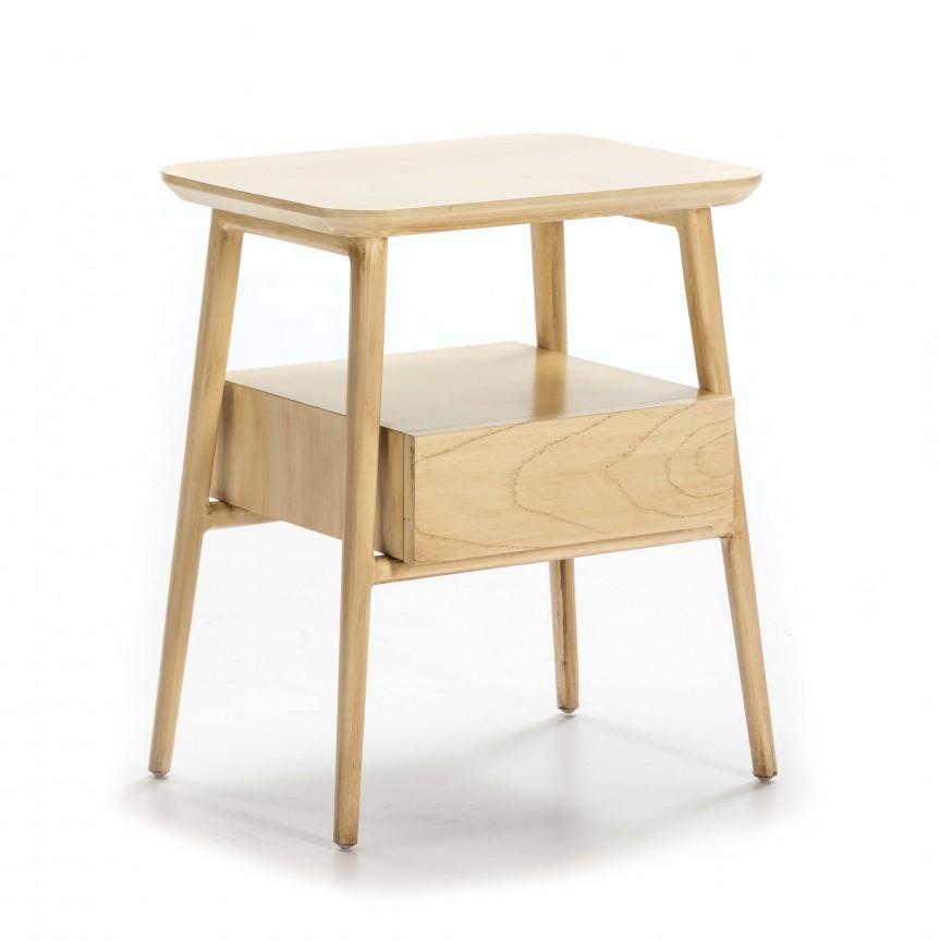 Noptiera lemn masiv design clasic, Ivy 76427/08 TN, Paturi - Noptiere dormitor,  a