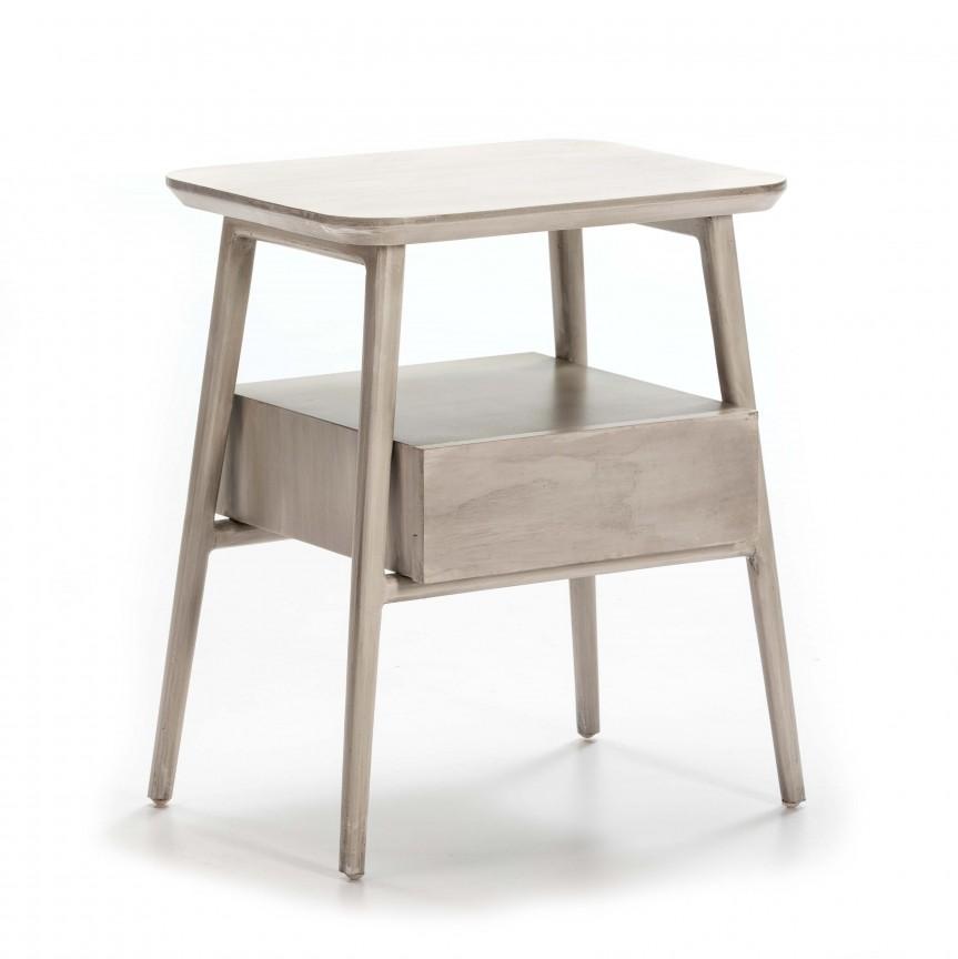 Noptiera lemn masiv design clasic,Kylie 76427/09 TN, Paturi - Noptiere dormitor,  a