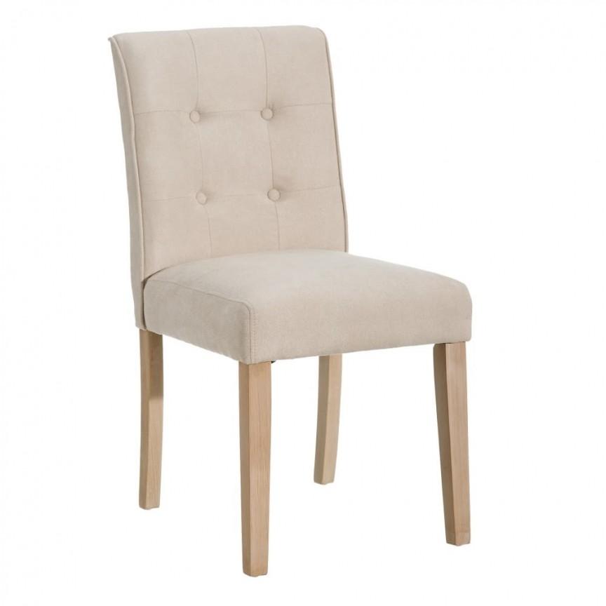 Set de 2 scaune design clasic Clover, crem-natur SX-151056, Seturi scaune dining, scaune HoReCa,  a