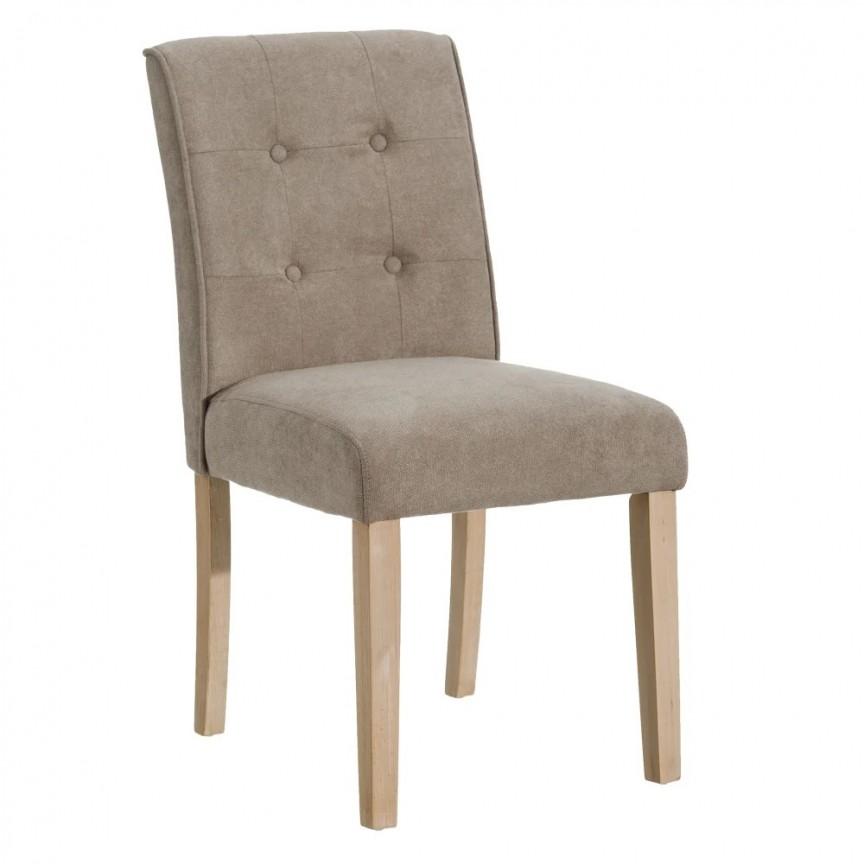 Set de 2 scaune design clasic Clover, taupe-natur SX-151057, Seturi scaune dining, scaune HoReCa,  a