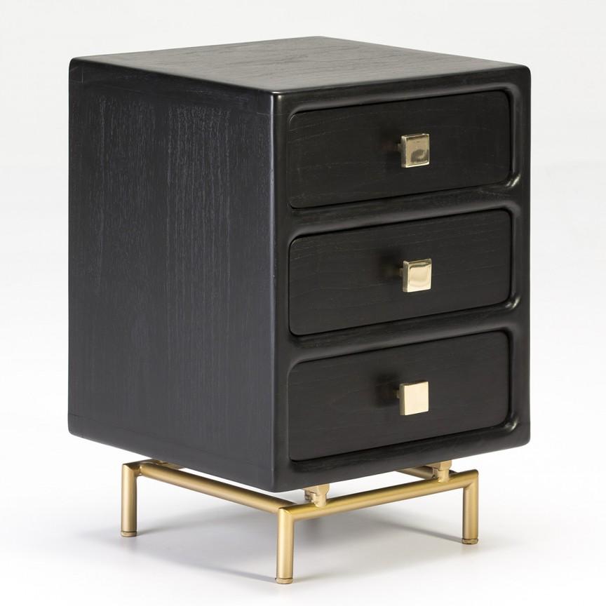 Noptiera eleganta design clasic, Lilah 26455/20 TN, Paturi - Noptiere dormitor,  a
