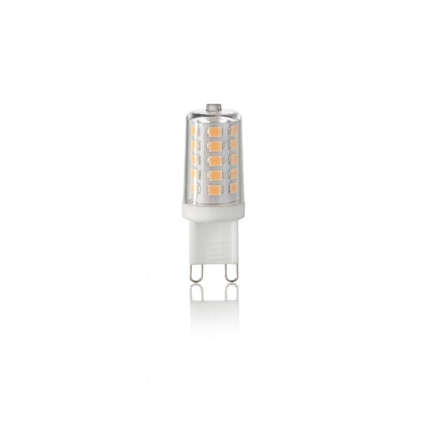Bec LED G9 3.2W 3000K 209043, Becuri G9, G4, R7s, Corpuri de iluminat, lustre, aplice, veioze, lampadare, plafoniere. Mobilier si decoratiuni, oglinzi, scaune, fotolii. Oferte speciale iluminat interior si exterior. Livram in toata tara.  a