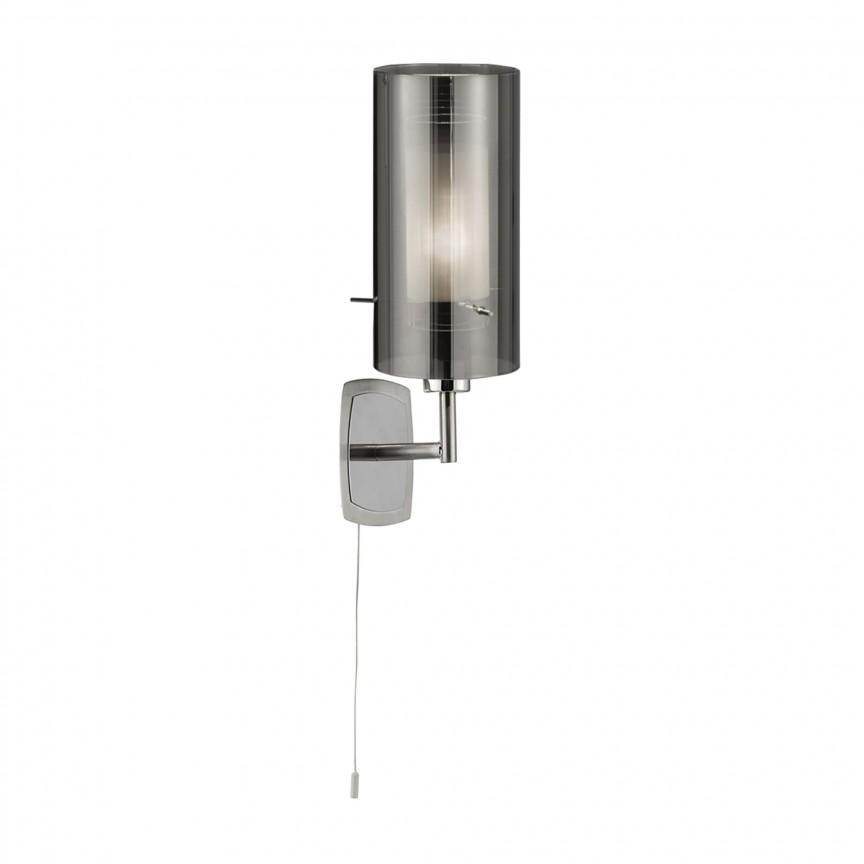 Aplica de perete design modern Duo II crom 3303-3SM SRT, Aplice de perete moderne, Corpuri de iluminat, lustre, aplice, veioze, lampadare, plafoniere. Mobilier si decoratiuni, oglinzi, scaune, fotolii. Oferte speciale iluminat interior si exterior. Livram in toata tara.  a