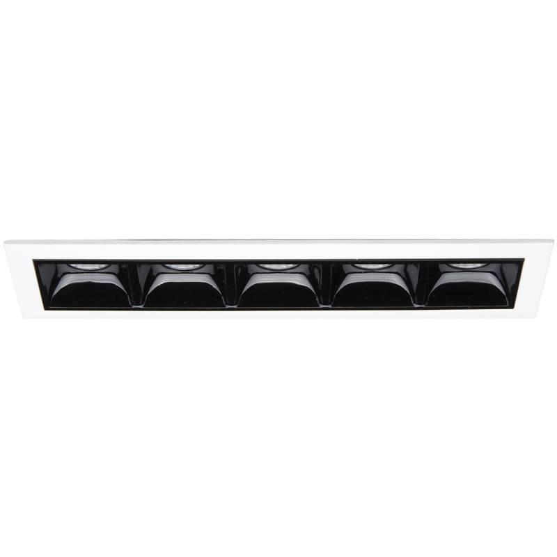 Corp incastrabil cu 5 spoturi LED LIKA FI5 TRIM 206219, Spoturi incastrate - tavan fals / perete, Corpuri de iluminat, lustre, aplice, veioze, lampadare, plafoniere. Mobilier si decoratiuni, oglinzi, scaune, fotolii. Oferte speciale iluminat interior si exterior. Livram in toata tara.  a