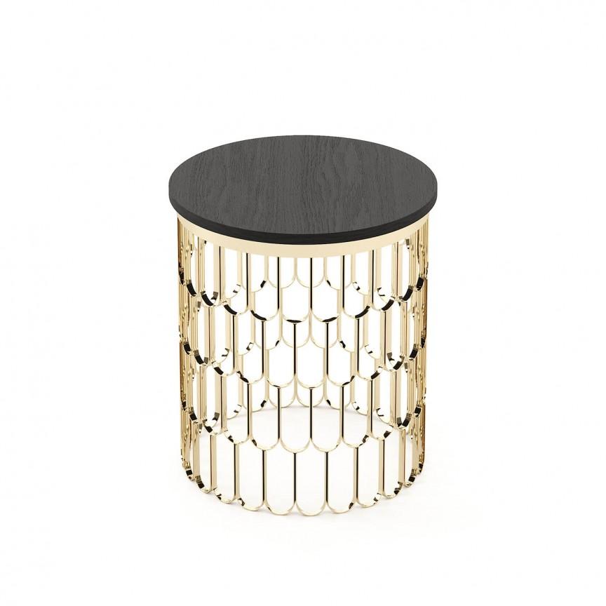 Masuta eleganta design Lux Brenda, Masute de cafea, Corpuri de iluminat, lustre, aplice, veioze, lampadare, plafoniere. Mobilier si decoratiuni, oglinzi, scaune, fotolii. Oferte speciale iluminat interior si exterior. Livram in toata tara.  a