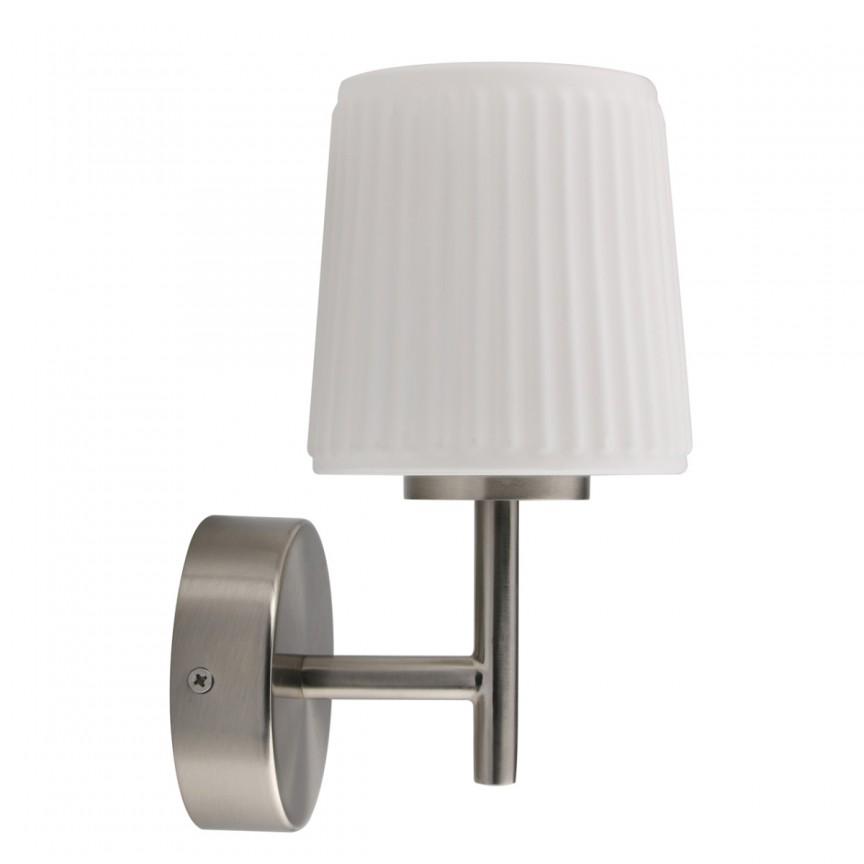 Aplica perete LED pentru baie IP44 Aqua 509024101 MW, Aplice pentru baie, oglinda, tablou, Corpuri de iluminat, lustre, aplice, veioze, lampadare, plafoniere. Mobilier si decoratiuni, oglinzi, scaune, fotolii. Oferte speciale iluminat interior si exterior. Livram in toata tara.  a
