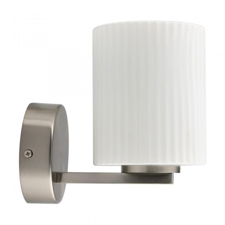 Aplica perete LED pentru baie IP44 Aqua 509024201 MW, Aplice pentru baie, oglinda, tablou, Corpuri de iluminat, lustre, aplice, veioze, lampadare, plafoniere. Mobilier si decoratiuni, oglinzi, scaune, fotolii. Oferte speciale iluminat interior si exterior. Livram in toata tara.  a