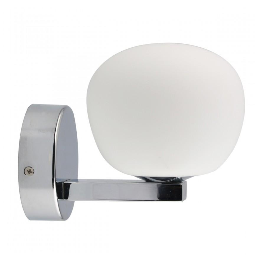 Aplica perete LED pentru baie IP44 Aqua 509024301 MW, Aplice pentru baie, oglinda, tablou, Corpuri de iluminat, lustre, aplice, veioze, lampadare, plafoniere. Mobilier si decoratiuni, oglinzi, scaune, fotolii. Oferte speciale iluminat interior si exterior. Livram in toata tara.  a