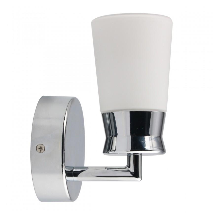 Aplica perete LED pentru baie IP44 Aqua 509024401 MW, Aplice pentru baie, oglinda, tablou, Corpuri de iluminat, lustre, aplice, veioze, lampadare, plafoniere. Mobilier si decoratiuni, oglinzi, scaune, fotolii. Oferte speciale iluminat interior si exterior. Livram in toata tara.  a