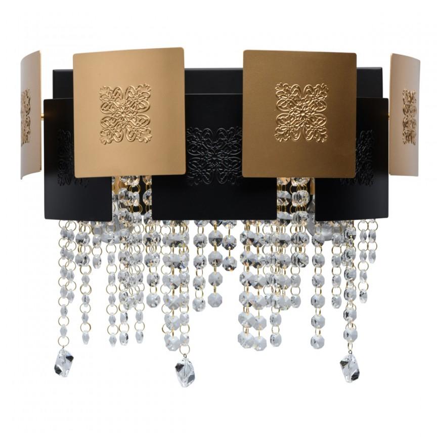 Aplica de perete eleganta cu cristal Swarovski Carmen 394020903 MW, Aplice de perete moderne, Corpuri de iluminat, lustre, aplice, veioze, lampadare, plafoniere. Mobilier si decoratiuni, oglinzi, scaune, fotolii. Oferte speciale iluminat interior si exterior. Livram in toata tara.  a