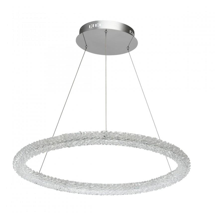 Lustra LED cu telecomanda design cristal Goslar Ø75cm 498014001 MW, Lampi LED si Telecomanda, Corpuri de iluminat, lustre, aplice, veioze, lampadare, plafoniere. Mobilier si decoratiuni, oglinzi, scaune, fotolii. Oferte speciale iluminat interior si exterior. Livram in toata tara.  a