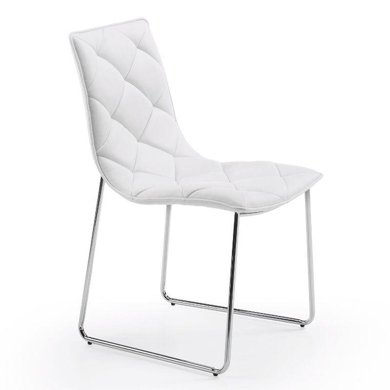 Scaun design modern BAXTER alb C040U05 JG, Scaune dining , Corpuri de iluminat, lustre, aplice, veioze, lampadare, plafoniere. Mobilier si decoratiuni, oglinzi, scaune, fotolii. Oferte speciale iluminat interior si exterior. Livram in toata tara.  a