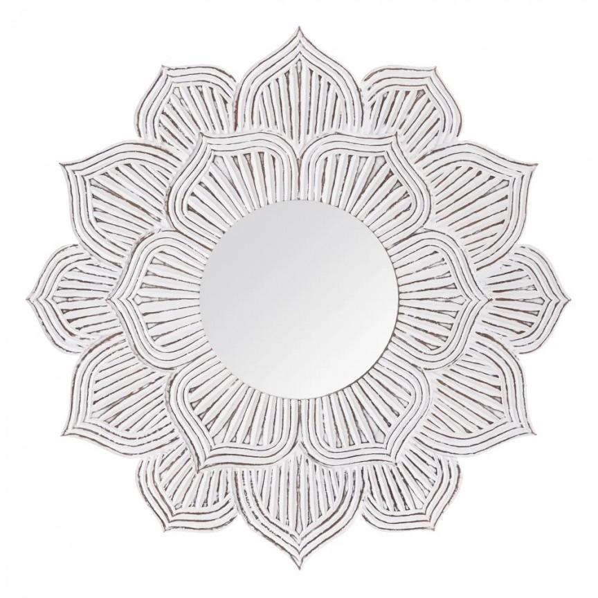 Oglinda decorativa WORN WHITE, 120cm SX-151530, Oglinzi decorative , moderne✅ decoratiuni de perete cu oglinda⭐ modele mari si rotunde pentru Hol, Living, Dormitor si Baie.❤️Promotii la oglinzi cu design decorativ❗ Intra si vezi poze ✚ pret ➽ www.evalight.ro. ➽ sursa ta de inspiratie online❗ Alege oglinzi deosebite Art Deco de lux pentru decorare casa, fabricate de branduri renumite. Aici gasesti cele mai frumoase si rafinate obiecte de decor cu stil contemporan unicat, oglinzi elegante cu suport de prindere pe perete, de masa sau de podea potrivite pt dresing, cu rama din metal cu aspect antichizat sau lemn de culoare aurie, sticla argintie in diferite forme: oglinzi in forma de soare, hexagonale tip fagure hexagon, ovale, patrate mici, rectangulara sau dreptunghiulara, design original exclusivist: industrial style, retro, vintage (produse manual handmade), scandinav nordic, clasic, baroc, glamour, romantic, rustic, minimalist. Tendinte si idei actuale de designer pentru amenajari interioare premium Top 2020❗ Oferte si reduceri speciale cu vanzare rapida din stoc, oglinzi de calitate la cel mai bun pret. a