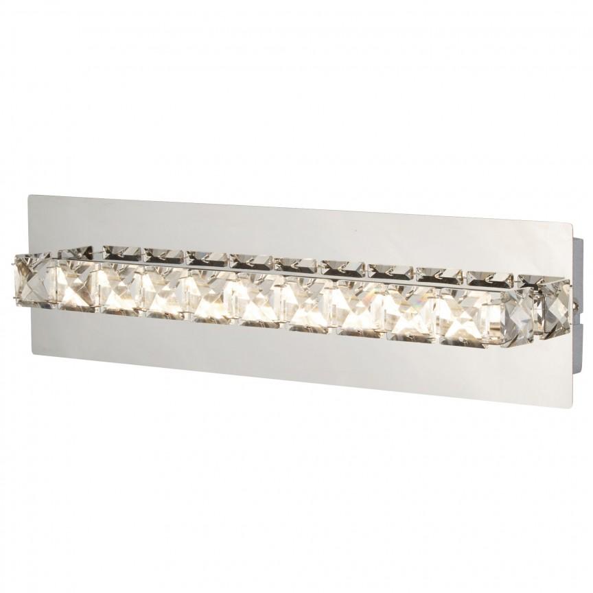Aplica de perete LED moderna design elegant Clover 6001CC SRT, Aplice de perete LED, Corpuri de iluminat, lustre, aplice, veioze, lampadare, plafoniere. Mobilier si decoratiuni, oglinzi, scaune, fotolii. Oferte speciale iluminat interior si exterior. Livram in toata tara.  a