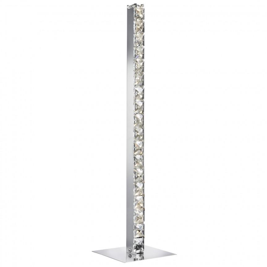 Lampa de masa LED moderna design elegant Clover EU7023CC SRT, Veioze LED, Lampadare LED, Corpuri de iluminat, lustre, aplice, veioze, lampadare, plafoniere. Mobilier si decoratiuni, oglinzi, scaune, fotolii. Oferte speciale iluminat interior si exterior. Livram in toata tara.  a