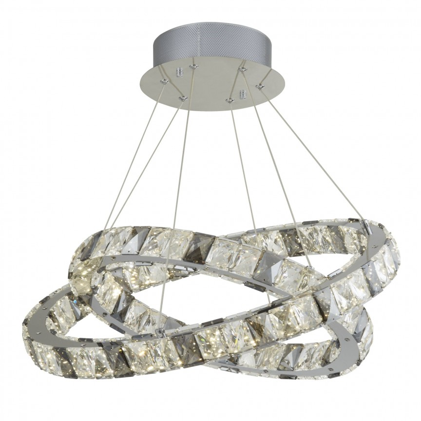 Lustra LED moderna suspendata Optica 4812-2CC SRT, Lustre LED, Pendule LED, Corpuri de iluminat, lustre, aplice, veioze, lampadare, plafoniere. Mobilier si decoratiuni, oglinzi, scaune, fotolii. Oferte speciale iluminat interior si exterior. Livram in toata tara.  a